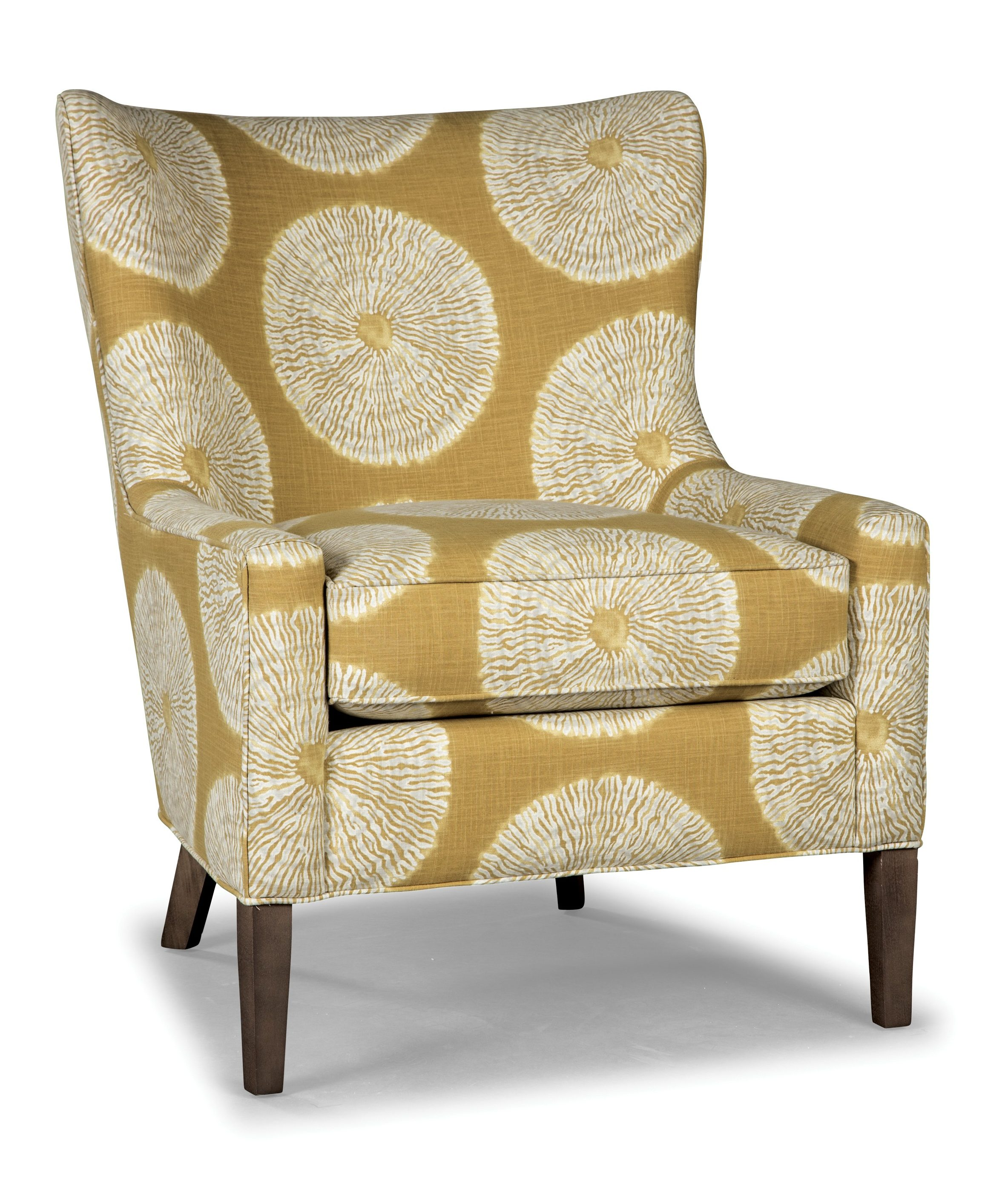 CURVED BACK ACCENT CHAIR (SOHO)