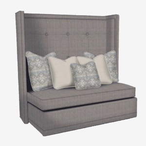 Rachael Ray Home by Craftmaster R1012 Murphy Tall Back Sleeper Bench with Innerspring Mattress at Great American Home Store