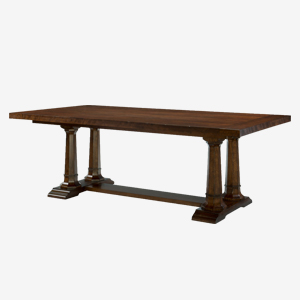 Rachael Ray Home Upstate Trestle Table with Leaves at Great American Home Store