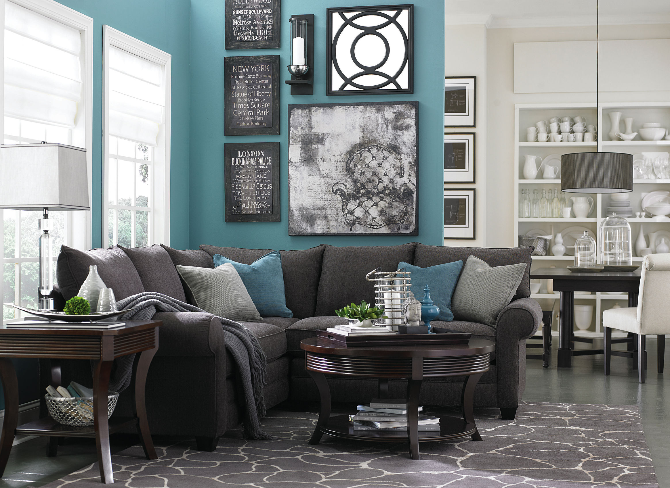 Color Series Decorating with Sharkskin Gray