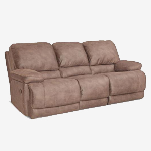 Diversey Slate Casual Power Sofa with Split Back and Full Chaise Cushions