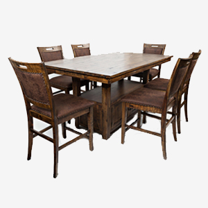 Jofran Cannon Valley High/Low Table and Chair Set