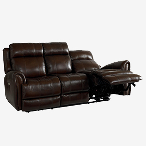 Marquee Chocolate Reclining sofa